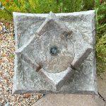 Fontaine Bain d'oiseaux solaire Pavillion par Solaray ™ de la marque Primrose image 5 produit