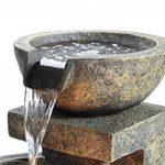 Fontaine d'Extérieur à 3 Bols de Tailles Différentes - avec Lumières de la marque Primrose image 2 produit