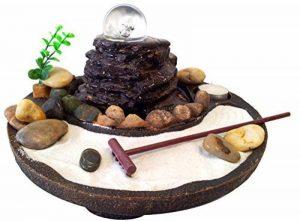 Fontaine d'intérieur Jardin Zen en polyrésine de la marque Agorà Import image 0 produit