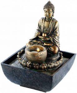 Fontaine d'intérieur lumineuse Bouddha de la marque infactory image 0 produit