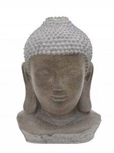 Fontaine de jardin/Fontaine Tête de Bouddha avec LED et pompe fontaine, 33x 60x 82cm–Outdoor–Sculpture/Statue de Bouddha–monsterkatz de la marque monsterkatz image 0 produit