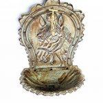 Fontaine murale de jardin avec vasque - fer - style antique - motif cheval - vert de la marque aubaho image 4 produit