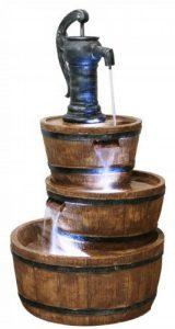 Fontaine à Trois Etages - Tonneau en Résine de la marque Primrose image 0 produit
