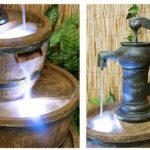 Fontaine à Trois Etages - Tonneau en Résine de la marque Primrose image 2 produit