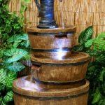 Fontaine à Trois Etages - Tonneau en Résine de la marque Primrose image 4 produit