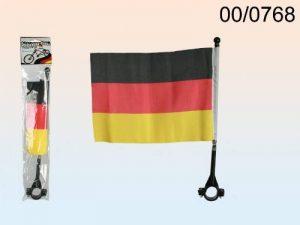 FRIP-drapeau allemand vélo, env. 22 x 16 cm, avec support inclus facile à installer de la marque FRIP -Versand® image 0 produit