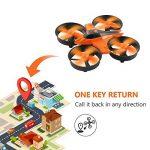 Furibee Mini Quadcopter Drone, F36 Mini RC Drone 2.4G 4CH 6Axis Gyro Télécommande Nano Drone RTF pour Enfants Adultes Débutants - Mode sans tête, 3D Flip, One Key Return de la marque Furibee image 3 produit