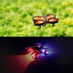 Furibee Mini Quadcopter Drone, F36 Mini RC Drone 2.4G 4CH 6Axis Gyro Télécommande Nano Drone RTF pour Enfants Adultes Débutants - Mode sans tête, 3D Flip, One Key Return de la marque Furibee image 4 produit