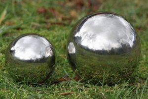 Galaxy Ball / flotteur - bille en acier inoxydable de différentes tailles, boule étang, größe:Ø 13cm de la marque Boltze image 0 produit