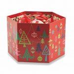 Galileo Casa Christmas Set de boules de Noël Sapin Père Noël et maison, Polyfoam, rouge, 8x 8x 8cm, 14unités de la marque Galileo Casa image 1 produit