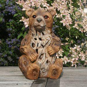 Garden Animals Collection Baxtor l'ours lumière solaire de jardin Ornement/Statue de la marque Garden Animals Collection image 0 produit