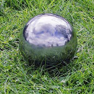 Gardens2you Décoration de jardin en inox miroir Sphère 35cm de la marque Gardens2you image 0 produit