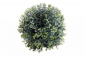 Gardman 02811 Boule Topiaire à Effet Plante Artificielle à Feuille 28 x 28 x 28 cm de la marque Gardman image 0 produit