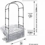 Gardman 07720 Arche de Jardin 28 x 5,5 x 96 cm de la marque Gardman image 1 produit
