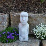 gartendekoparadies.de pierre massive Moai statue de l'île de Pâques Décoration Element en pierre Fonte au gel de la marque gartendekoparadies.de image 1 produit