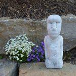 gartendekoparadies.de pierre massive Moai statue de l'île de Pâques Décoration Element en pierre Fonte au gel de la marque gartendekoparadies.de image 4 produit