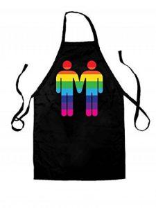 Gay Toilet Sign - Unisexe Tablier pour adulte - 8 couleurs de la marque Dressdown image 0 produit