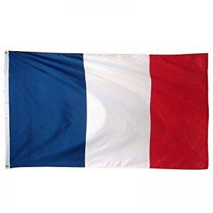 Generic Drapeau Francais 150 x 90cm pour Fans et Décoration de la marque Generic image 0 produit
