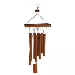 Generic Son Relaxant Bambou Carillon à Vent Décoration Suspendu du Cour Jardin Extérieur de la marque Générique image 0 produit