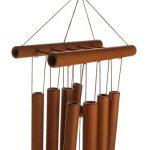 Generic Son Relaxant Bambou Carillon à Vent Décoration Suspendu du Cour Jardin Extérieur de la marque Générique image 3 produit