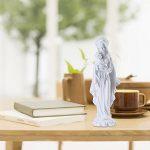 Giftgarden Statue de la Sainte Vierge avec Bébé Jésus Objet de Décoration Blanc 12.2x11x25.4cm de la marque Giftgarden image 2 produit