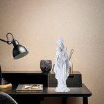 Giftgarden Statue de la Sainte Vierge avec Bébé Jésus Objet de Décoration Blanc 12.2x11x25.4cm de la marque Giftgarden image 4 produit