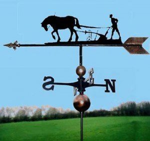 Girouette cheval &Lame très haute qualité, fait main de la marque OriginalForgery image 0 produit