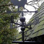 Girouette coq en fer forgé avec arabesques 97x47x47cm de la marque Aubry Gaspard image 2 produit