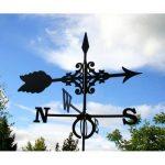 Girouette flèche en fer forgé petit modèle de la marque Outils et Nature image 2 produit