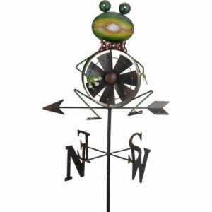 Girouette moulin à vent Grenouille de la marque KOOPMAN image 0 produit