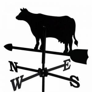 Girouette Vache en fer forgé petit modèle de la marque Outils et Nature image 0 produit