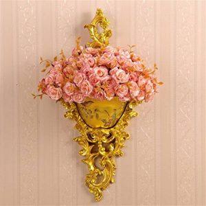 GMM Tenture murale pendentif mur vase fleur panier mode floral jardin maison décorations murales décorations murales floral,B de la marque GMM image 0 produit