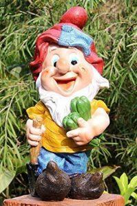 GMMH 500035Sept Nains de jardin design, New, 37cm, nain de jardin décoration de la marque GMMH image 0 produit