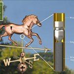 Good directions 580p Cheval Girouette, Cuivre poli, 952P de la marque Good Direction image 1 produit