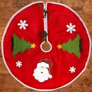 Grand 90cm de fête sapin de Noël Nappe décoration - Père Noël de la marque Robelli image 0 produit