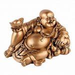 GRAND BOUDDHA RIEUR - Symbolisme Chance et Fortune - Décoration Asiatique de la marque Lachineuse image 2 produit
