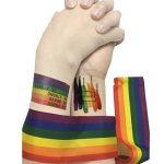 Grand LGBT Drapeau Polyester Durabol Homosexuel Rainbow Pride LGBT Lesbiennes Cylindriques pour le Jour de la Pride LGBT Drapeau Kit Rainbow Symbole Gays, Lesbiennes, L'amour est l'amour Parade 59 * 35inch Flag de la marque Sophko image 1 produit