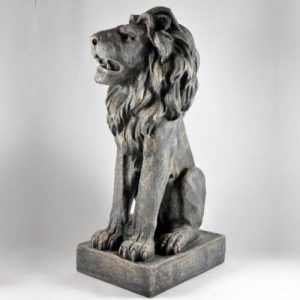 Grand lion en pierre-à gauche : env. 70 cm de la marque Vamundo image 0 produit