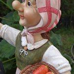 Grand-mère Edeltraud avec lanterne solaire jardin figurine Figurine Europe Lanterne solaire jardin de la marque Unbekannt image 3 produit