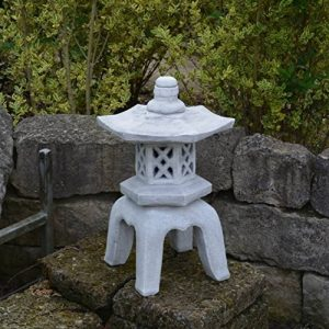 Grande Pierre massive OKI Gata Yukimi Lanterne en pierre, au gel de la marque gartendekoparadies.de image 0 produit