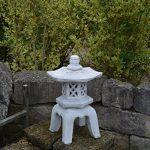 Grande Pierre massive OKI Gata Yukimi Lanterne en pierre, au gel de la marque gartendekoparadies.de image 1 produit