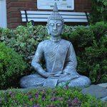Grande statue de Bouddha assis de 65cm - Sculpture de décoration pour le salon - Taille XL de la marque Dszapaci image 1 produit