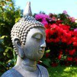Grande statue de Bouddha assis de 65cm - Sculpture de décoration pour le salon - Taille XL de la marque Dszapaci image 2 produit