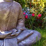 Grande statue de Bouddha assis de 65cm - Sculpture de décoration pour le salon - Taille XL de la marque Dszapaci image 3 produit