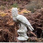 Grande statue Eagle Jardin Patio Pierre Oiseau en fonte sur mesure Unique vieilli de la marque Worldofstone image 2 produit