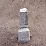 Grande statue Moai Pierre île de Pâques Tête visage en pierre Élément Décoration en fonte au gel de la marque gartendekoparadies.de image 3 produit