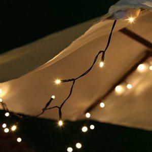 Guirlande Solaire 10m 100 LED par Festive Lights (Blanc Chaud) de la marque Festive Lights image 0 produit