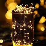 Guirlande Solaire Lumière,72ft 200led guirlande lumineuses exterieur,guirlande led solaire,8 mode scintillant imperméable lampe arbre lumineux led pour noel,mariage,jardin decoration (blanc chaud) de la marque MagicLux Tech image 2 produit