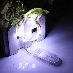 Guirlandes Lumineuse Étanche Cuivre Fil 2m 20-LEDs Piles Incluses décoration Noël mariage anniversaire - 4 Couleurs Set de la marque Folowish image 4 produit