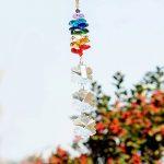 H & D 25mm Lustre Cristal Pendentif Perle flocon de neige cafetière arc-en-ciel chakra Cascade Mobile Attrape-Soleil de la marque Inconnu image 3 produit